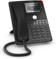 Snom D765 Kabelgebundenes Mobilteil TFT Schwarz IP-Telefon (Schwarz)