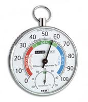 TFA 45.2027 Innenraum Hair tension hygrometer Chrom Hygrometer/Psychrometer (Chrom)