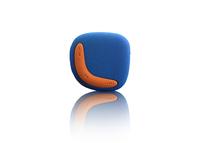 Lenco Xemio-254 (Blau, Orange)