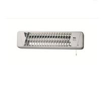 Fakir HQ 600 Innenraum Silber, Weiß 600W Quarz elektrische Raumheizung (Silber, Weiß)