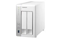 QNAP TS-231 Storage server Turm Eingebauter Ethernet-Anschluss Weiß NAS & Speicherserver (Weiß)