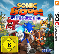 Nintendo Sonic Boom: Shattered Crystal, 3DS