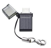 Intenso Mini Mobile Line, 16GB 16GB USB 2.0/Micro-USB Schwarz USB-Stick (Schwarz)
