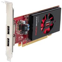 Fujitsu AMD FirePro W2100 2048MB AMD FirePro W2100 2GB (Schwarz, Rot)