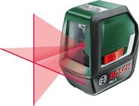 Bosch PLL 2 Bezugspegel 10m 640 nm (< 1 mW) (Schwarz, Grün)
