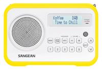 Sangean DPR-67 (Weiß, Gelb)