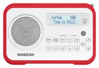 Sangean DPR-67 (Rot, Weiß)