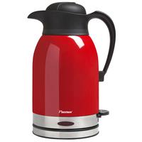 Bestron ATW1600 Wasserkocher (Schwarz, Rot)