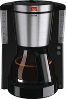 Melitta Look Deluxe 10Tassen Drip coffee maker Schwarz, Edelstahl (Schwarz, Edelstahl)