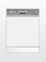 Beko DSN 1430 X Integrierbar A Silber, Weiß (Silber, Weiß)