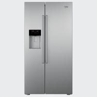 Beko GN162330X Side-by-Side-Kühlschrank (Silber)