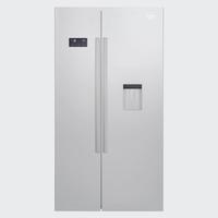 Beko GN163220S Side-by-Side-Kühlschrank (Silber)