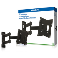 Valueline VLM-MFM30 Flat Panel Wandhalter (Schwarz)