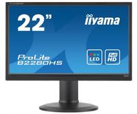 iiyama ProLite B2280HS-B1DP PC Flachbildschirm (Schwarz)