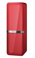 Bosch KCE40AR40 Kühl-Gefrierschrank (Rot, Weiß)