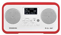 Sangean DPR-77 (Rot, Weiß)