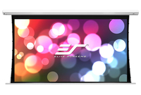 Elite Screens SKT100XHW-E12 Projektoren Leinwand (Schwarz, Weiß)