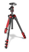 Manfrotto MKBFRA4R-BH Stativ (Schwarz, Rot)