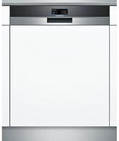 Siemens SN578S03TE Spülmaschine (Edelstahl, Weiß)