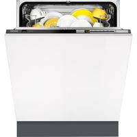 Zanussi ZDT26010FA Spülmaschine (Weiß)