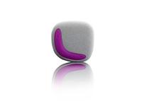 Lenco Xemio-244 (Grau, Pink)
