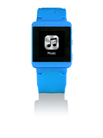 Lenco MP3 Sportwatch-100 (Blau)