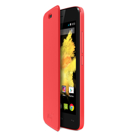 Wiko 3700738104281 Handy-Schutzhülle (Coral)