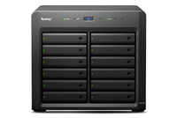 Synology DX1215 Disk Array (Schwarz)
