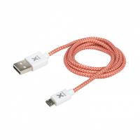 Xtorm CX001 USB Kabel (Rot, Silber, Weiß)