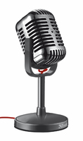 Trust Elvii Desktop Microphone (Schwarz)