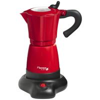 Bestron AES480 Kaffeemaschine (Schwarz, Rot)