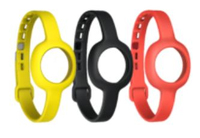 Jawbone JL06A-3SS1-EU Uhrenarmband (Schwarz, Rot, Gelb)