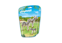 Playmobil 6641 - Zebrafamilie (Mehrfarbig)