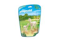 Playmobil 6647 - Alpaka mit Baby (Mehrfarbig)