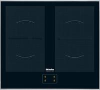 Miele KM 6093 Eingebaut Induktion Schwarz (Schwarz)