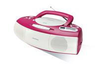 Grundig RRCD 1400 (Pink, Weiß)