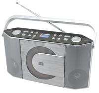 Soundmaster RCD1750SI CD-Radio (Silber)