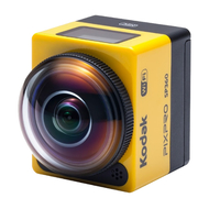 Kodak PixPro SP360 Aqua Sport Pack 17.52MP Full HD 1/2.33Zoll CMOS WLAN 103g Actionsport-Kamera (Schwarz, Gelb)