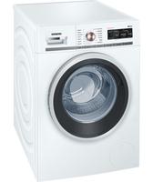 Siemens WM14W5FCB Freistehend 9kg 1379RPM A+++ Weiß Frontlader Waschmaschine (Weiß)