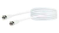 Schwaiger KVC215 052 Koaxialkabel 1,5 m F Weiß (Weiß)