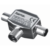 Hama 00122469 Kabeladapter (Silber)