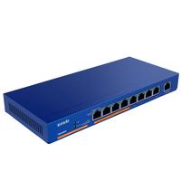 Tenda TEG1009P Netzwerk Switch (Blau)
