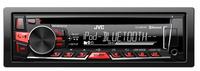 JVC KD-R861BTE Auto-CD/DVD Tuner (Schwarz)