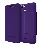 Wiko 94171 Handy-Schutzhülle (Violett)