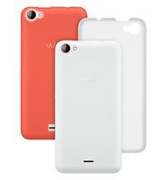 Wiko 94220 Handytasche (Orange, Weiß)