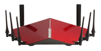 D-Link DIR-895L/R Tri-Band (2,4 GHz / 5 GHz / 5 GHz) Gigabit Ethernet Schwarz, Rot WLAN-Router (Schwarz, Rot)