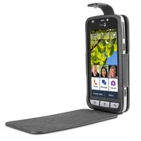 Doro 6720 Handy-Schutzhülle (Schwarz)