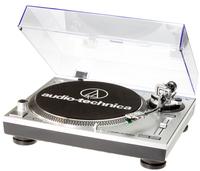 Audio-Technica AT-LP120-USBHC Belt-drive audio turntable Grau, Platin, Schwarz (Grau, Platin, Schwarz)