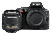 Nikon D5500 + AF-S DX NIKKOR 18-55mm (Schwarz)
