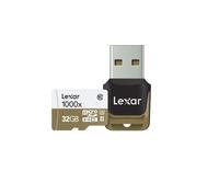 Lexar 32GB microSDHC UHS-II (Schwarz, Braun)